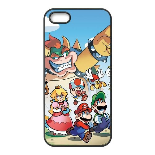 Game Boy Super Mario Bros TI47RP4 coque iPhone 5 5s téléphone cellulaire cas coque X1ND1U7DK
