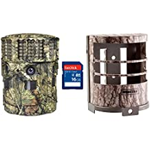 Moultrie No Glow 14MP Panoramic 180i Game Camera with Security Case & SD Card