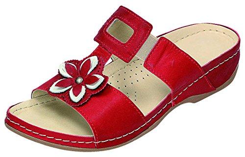 MICCOS - Zuecos para mujer Rojo Rosso Rojo - Rosso