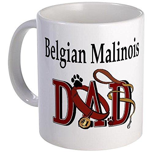 CafePress - Belgian Malinois Dad Mug - Unique Coffee Mug, Coffee Cup (Malinois Mug Belgian)