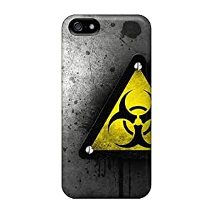 Tpu Shockproof/dirt-proof Bio Hazard Cover Case For Iphone(5/5s)