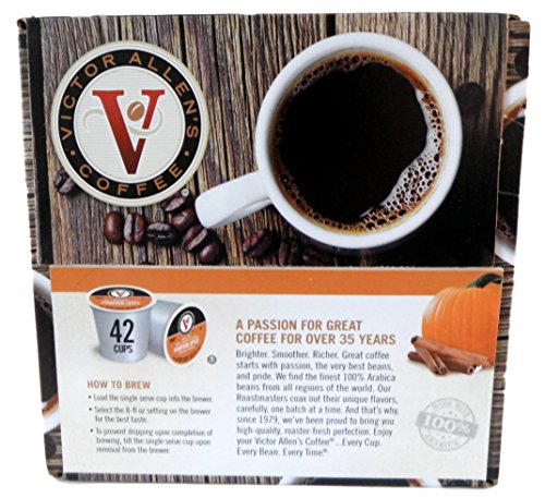 VICTOR ALLEN'S PUMPKIN SPICE MEDIUM ROAST, SINGLE SERVE ()