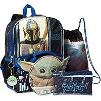 Star Wars Mandalorian Baby Yoda The Child 5 Piece Backpack Set