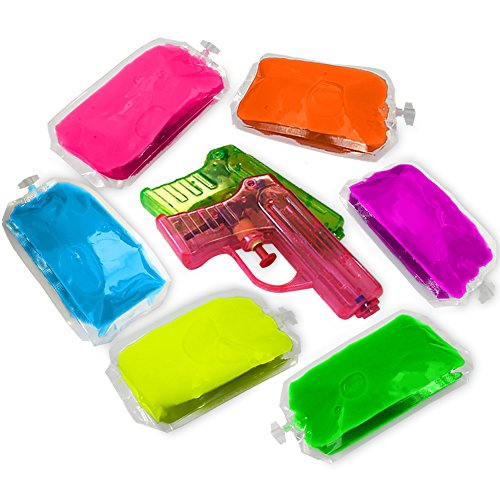holi-color-gel-6-pack-with-squirt-guns-put-it-into-squirt-guns-green-yellow-blue-purple-pink-and-ora