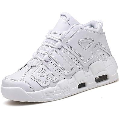 Hombres de Baloncesto Zapatos de Alta Top Mens Sport Zapatos para ...