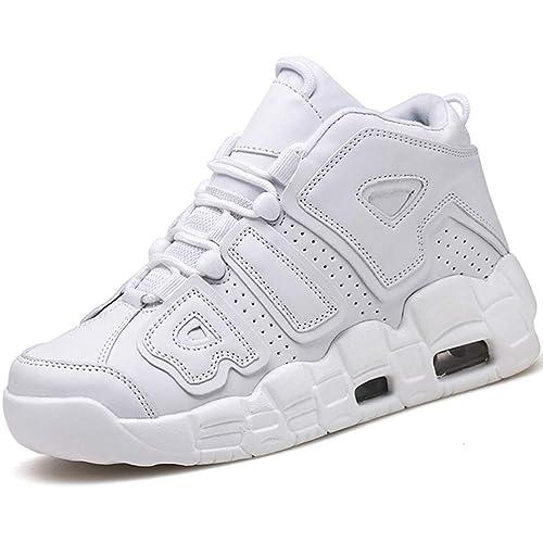da67df2f7c8 Hombres de Baloncesto Zapatos de Alta Top Mens Sport Zapatos para niños  niños Zapatillas: Amazon.es: Zapatos y complementos