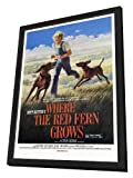Where the Red Fern Grows - 27 x 40 Framed Movie Poster