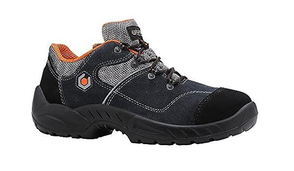 Base BO155 Garibaldi S1P SRC Smart Zapatillas de Seguridad para Hombre con Cordones Antideslizantes: Amazon.es: Deportes y aire libre
