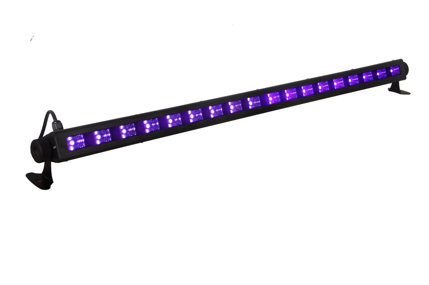 Stansen UV LED Light Bar by Stansen with 18LEDx3W Black Light, Metallic Black (54W)