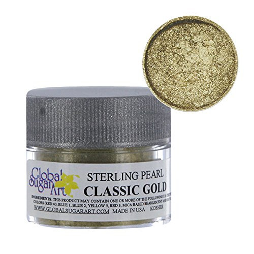 Classic Gold Sterling Pearl Dust by (Global Dust Cap)
