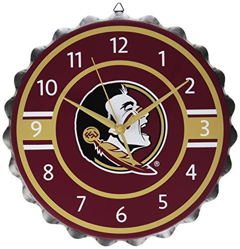 Florida State Bottlecap Clock