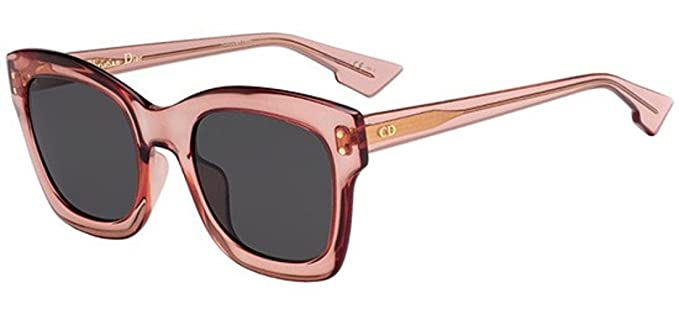Amazon.com: Dior Izon 2/S, color rosa 035j anteojos de sol ...