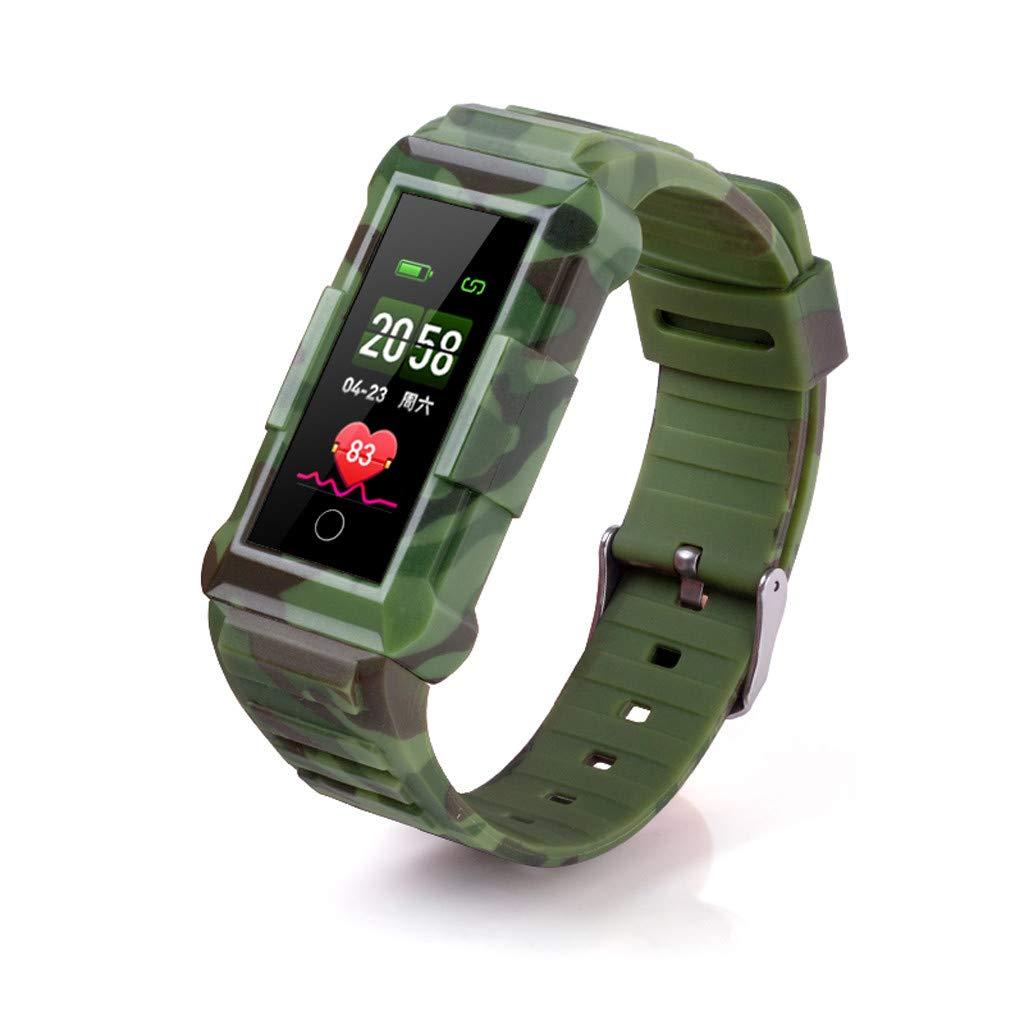 Bluetooth Blood Pressure Heart Rate Bracelet Smart Band Sports Activity Tracker Watch New