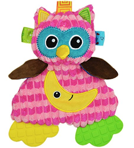 BabyPrice Baby Cute Owl Doll with Teether Educational Toys Developmental Sensory Toy (Adult Halloween Costumes Ideas 2016)