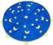 Kids Parachute,6 Feet Parachute Toys with 8 Handles for Kids Play, Kids Games, Outdoor Games