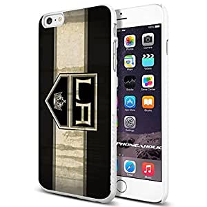 NHL HOCKEY LA Los Angeles Kings Logo, Cool Case Cover For LG G2 Smartphone Collector iphone PC Hard Case White [By PhoneAholic]