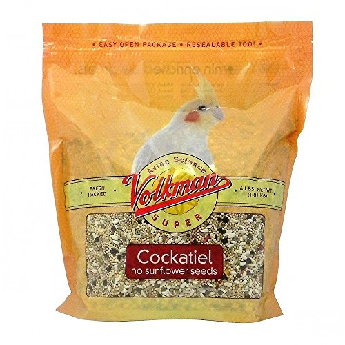 cience Super Cockatiel No Sunflower 4lb (Avian Bird Seed)