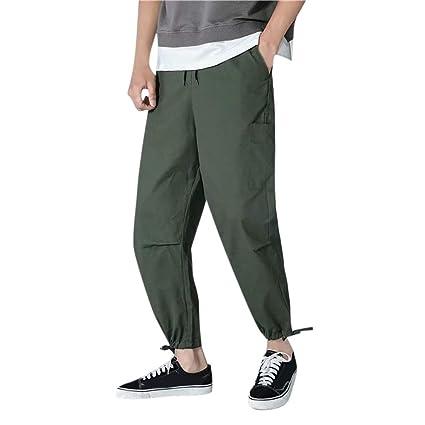 Yesmile Pantalón para Hombres Slim-Fit Casual Moda Clasico ...