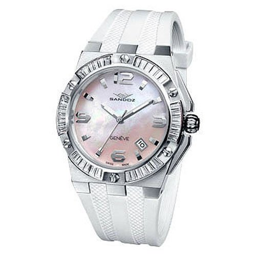 Reloj Sandoz Caractere 81300-00 Mujer Nácar