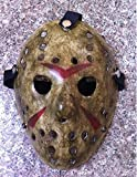 SaveStore 1pcs/lot Black Friday NO.13 Jason Voorhees Freddy Hockey Festival Party Halloween Masquerade mask (Adult Size) 100gram