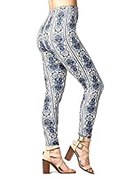 Conceited Leggings With Design