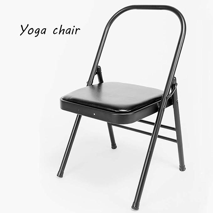 Pilates Silla de Yoga, Taburete Plegable para Accesorios ...