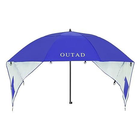 Ombrellone Da Mare Con Tenda.Outad Ombrellone Con Tenda Parasole Per Mare Spiaggia Blu Diametro