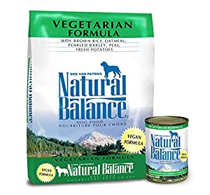 Natural Balance Vegetarian Formula Dry & Wet Dog Food Bundle