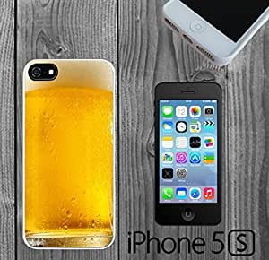 Cool Yellow Ice Beer Pattern Custom made Case/Cover/skin FOR iPhone 5/5s