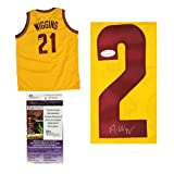 Andrew Wiggins Autographed/Signed Custom Cleveland Cavaliers Jersey NBA