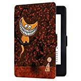 Huasiru Painting Case for Amazon Kindle Paperwhite (2012, 2013, 2015, 2016, 2017 and 2018 Versions) Cover with Auto Sleep/Wake, Cats