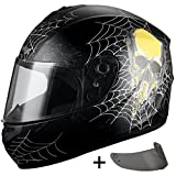 Best Motorcycle Helmet For Triangle DOTs - Triangle Full Face Street Bike Motorcycle Helmets + Review