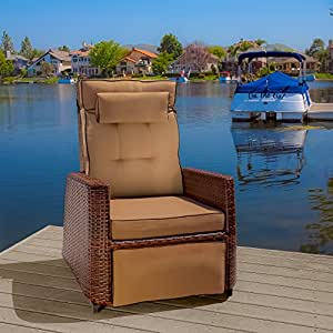 Patio Recliner Is Great for Relaxing Outside. This Patio Recliner Is Guaranteed to Bring Beauty to Your Patio.