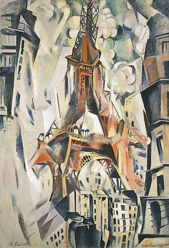 (Robert Delaunay Eiffel Tower 72x106 [Kitchen])
