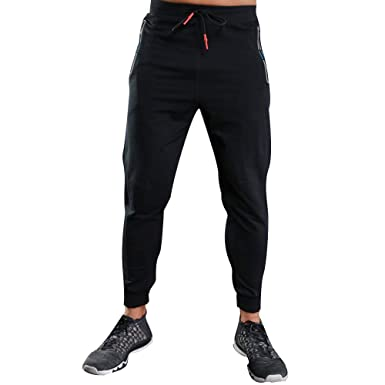 36a549aef91 Easytoy Men s Active Basic Jogger Sweatpants Pants Running Trousers (Black