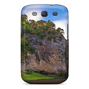 For Galaxy S3 Tpu Phone Case Cover(waterfall)