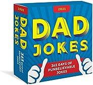2021 Dad Jokes Boxed Calendar: 365 Days of Punbelievable Jokes (Daily Calendar, Joke Calendar for Him, Desk Gi