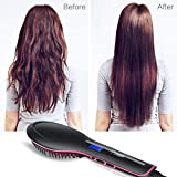 Hair Straightening Brush with Heating,Fast Natural