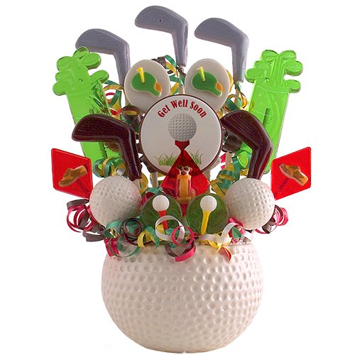Fore! the Links - Get Well Lollipop Bouquet