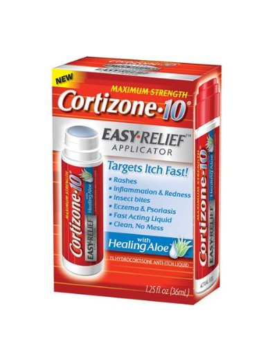 Relief Applicator - Cortizone-10 Easy Relief Applicator, 1.25-Ounce Boxes (Pack of 6)