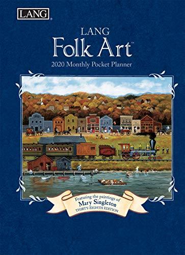 Lang Lang Folk Art 2020 Monthly Pocket Planner (20991003162)