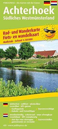 Achterhoek - Südliches Westmünsterland: Rad- und Wanderkarte mit Ausflugszielen, Einkehr- & Freizeittipps, wetterfest, reißfest, abwischbar, GPS-genau. 1:50000 (Rad- und Wanderkarte / RuWK)