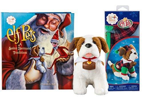 Elf on the Shelf(R) St. Bernard Puppy Playset