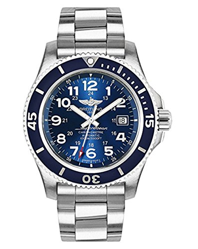 Breitling Authorize Men's Superocean II 44 A17392D8/C910-162A Automatic Swiss Watch ()