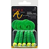 Apex Rigged Swirl Tail Jig Bait (Pack of 5)