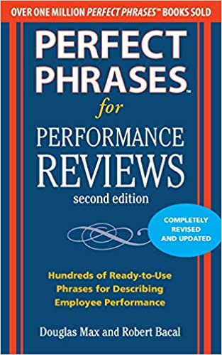 Phrase book pdf performance appraisal