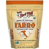 Bob's Red Mill Organic Farro Grain (24 Ounce, Pack of 2)