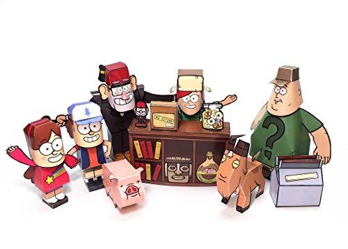 Paper Heroes Gravity Falls - Dipper, Mabel and Sta…