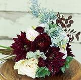 Silk-Succulent-Plum-Burgundy-Wedding-Bouquet-with-Dahlias-Ranunculus-and-Peony-Silk-Bouquet