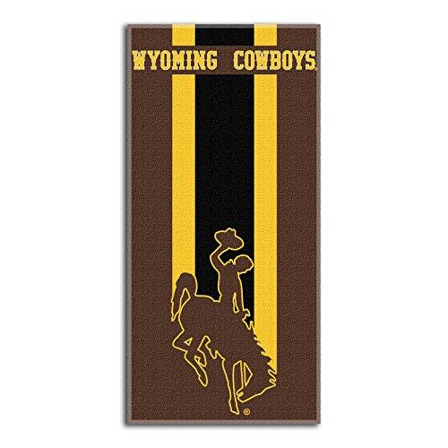 - Northwest NCAA Wyoming Cowboys  Beach Towel,  30 x 60-inch